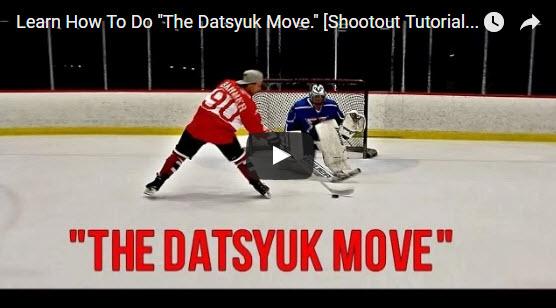 Jak se naučit ,, Datsyuk move ,,