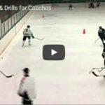 Hokej trénink muži