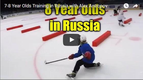 Trénink dětí 7 – 8 let v Rusku!