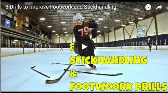 8 cvičení, k zlepšení práce nohou a práce s hokejkou