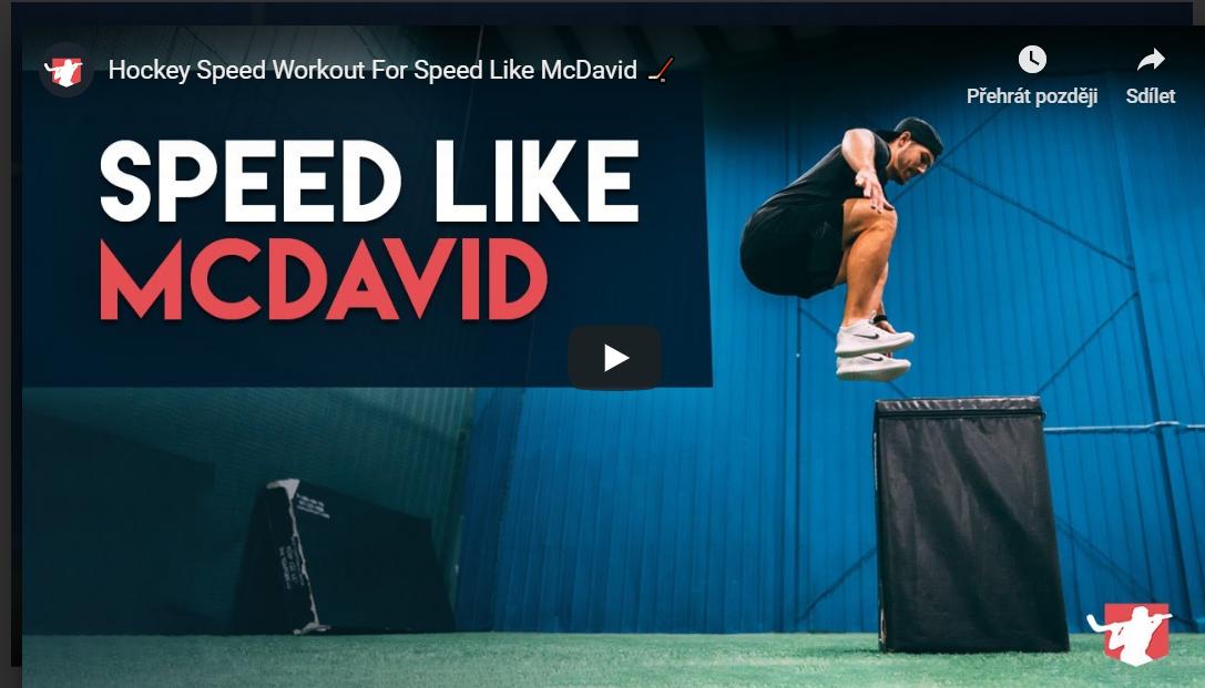 Jak získat rychlost jako MCDavid