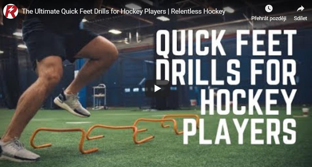 Hokej trénink