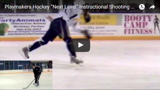 Hokej trénink střelba
