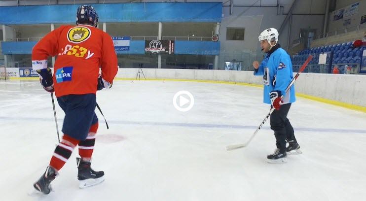 Hokejový trenér - překládání